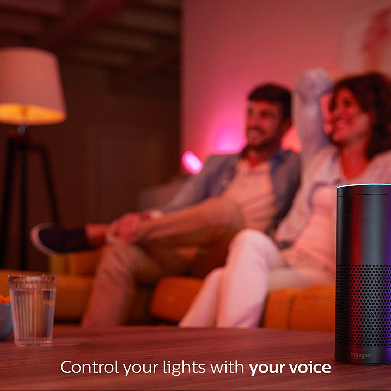Philips Hue 464479 60W Equivalent White and Color Ambiance A19 Starter Kit, 3rd Generation, Works with Amazon Alexa by Philips (Image #5)