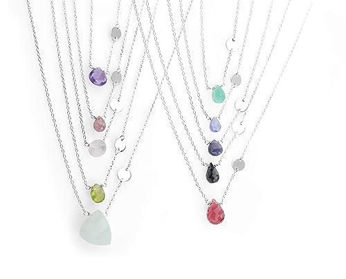 Black Tourmaline Sch\u00f6rl Gemstones Necklace Necklace