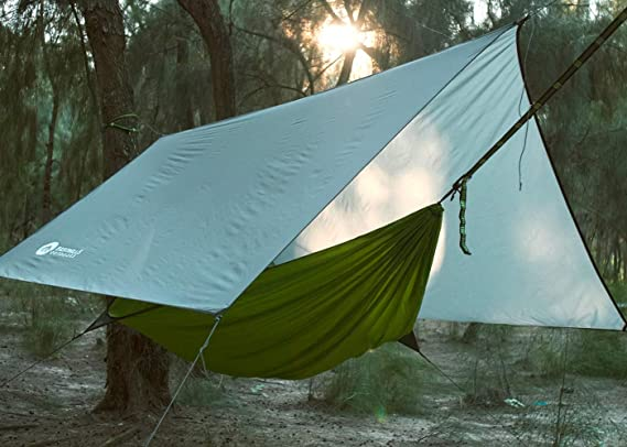 Hikant Camping Hammock Set Single Hammock Mosquito Net Rainfly Tarp Tent Hammock Tent Perfect For Backpacking Hiking Lightweight Waterproof Sun Shade Nayancorporation Com