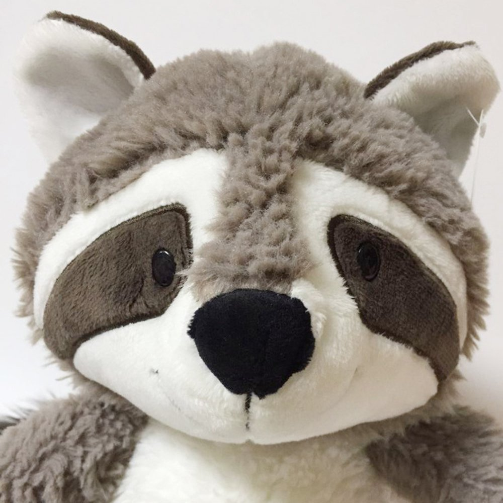 25cm Cartoon Big Tail Raccoon Plush Toy Cute Soft Stuffed Animals Doll Pillow for Girls Children Kids Baby Birthday Gifts by Eden Fghk (Image #5)