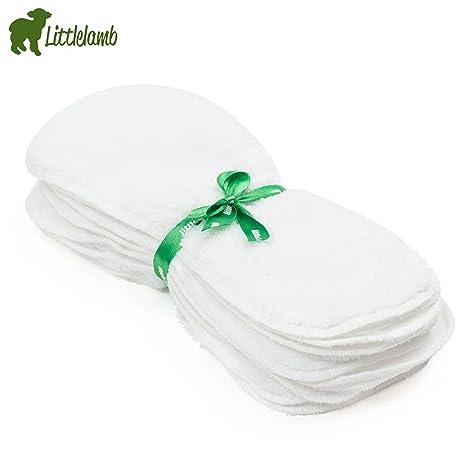 Little Lamb pañales de fieltro lavable Forro Polar (10 unidades) – Tamaño 1 (. Pasa ...
