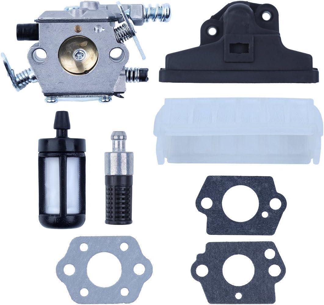 Haishine Kit de Juntas de Filtro de Aire de carburador de carburador para STIHL 021 023 025 MS210 MS230 MS250 MS 210 230 250 Motosierra Piezas de Repuesto