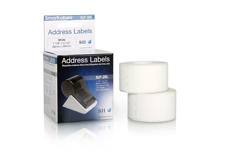 Seiko SLP-2RLE Large address labels 36mm x 89mm 2rolls per box