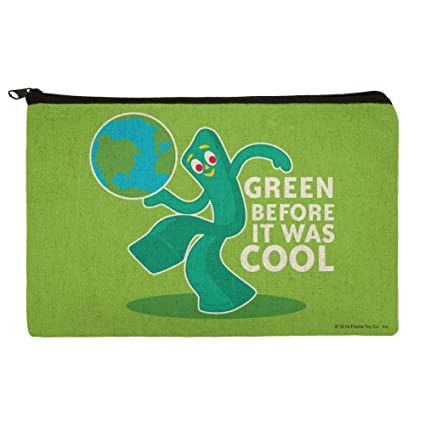 Gumby Green Before It was Cool Earth Planet - Estuche organizador ...