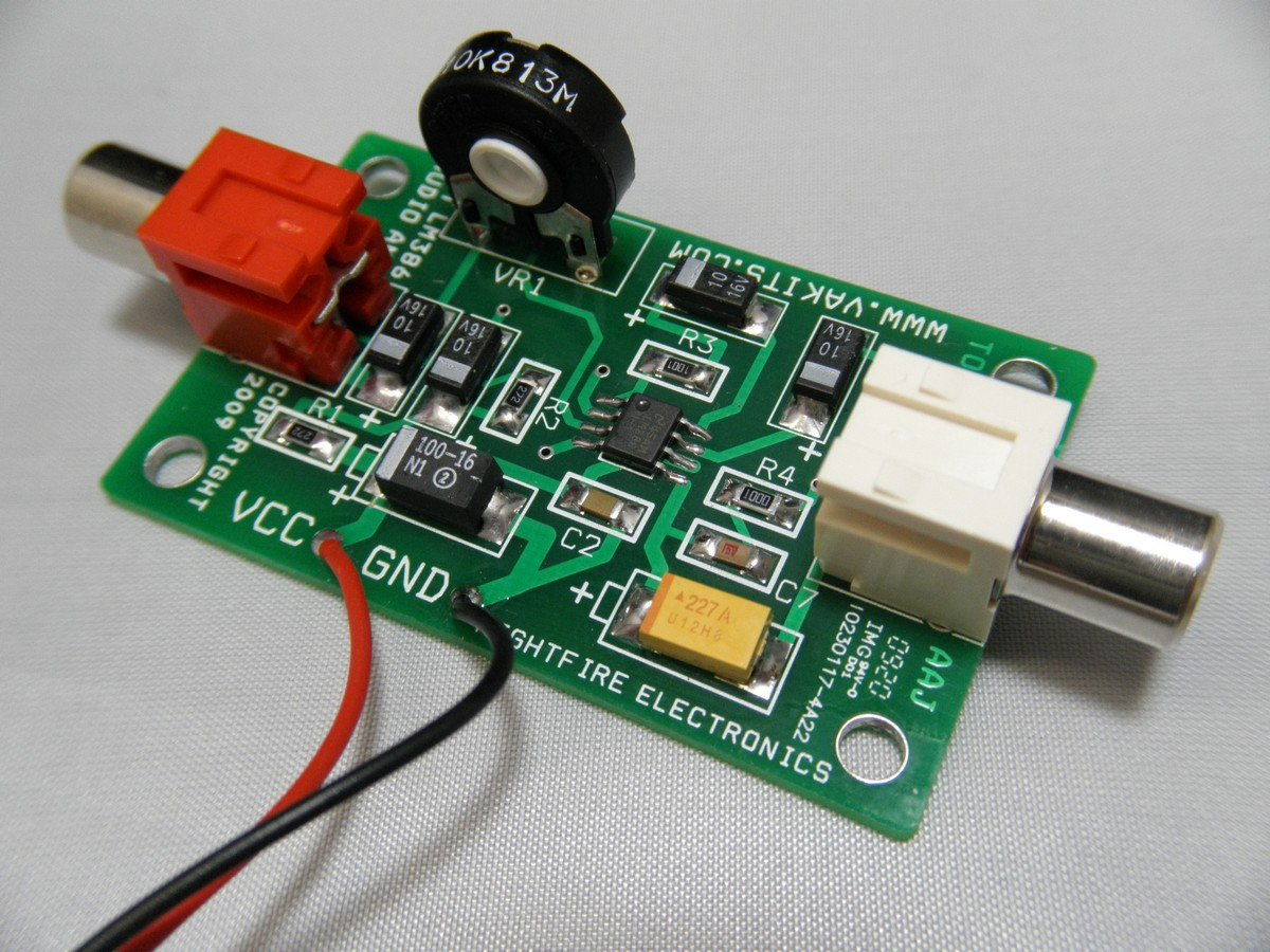 Nightfire Smt Audio Amplifier Pcb Kit Lm386 1700 Circuit With Home Theater