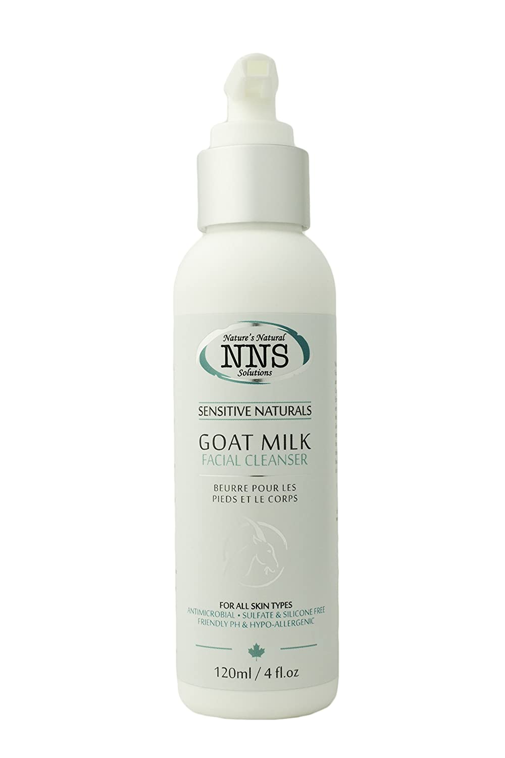 Nature's Natural Solutions Goat Milk Facial Cleanser Sensitive Skin AFacialClSS