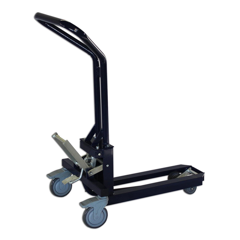 Paleta mecánico Transpaleta de pantalla concentrador carro carrito palé (Ideal para el transporte de 1/4 de dimensiones o venta Pantallas: Amazon.es: ...