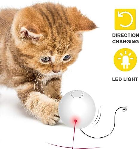Pelota de Juguete para Gatos Inteligentes Automática Giratoria Cat ...