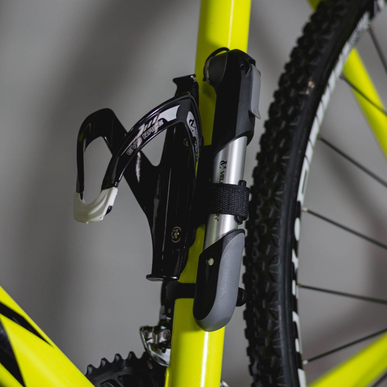 Duradera y R/ápida /&n V/álvula Reversible VeloChampion Alloy 7 Mini Bomba para Bicicleta con 100 PSI // 6.9 Bar Presi/ón M/áxima Se adapta a Presta y Schrader Bomba de aire para Neum/ático Port/átil Compacta