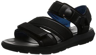 Clarks Sandales, Couleur Noir, Marque, modèle Sandales Un