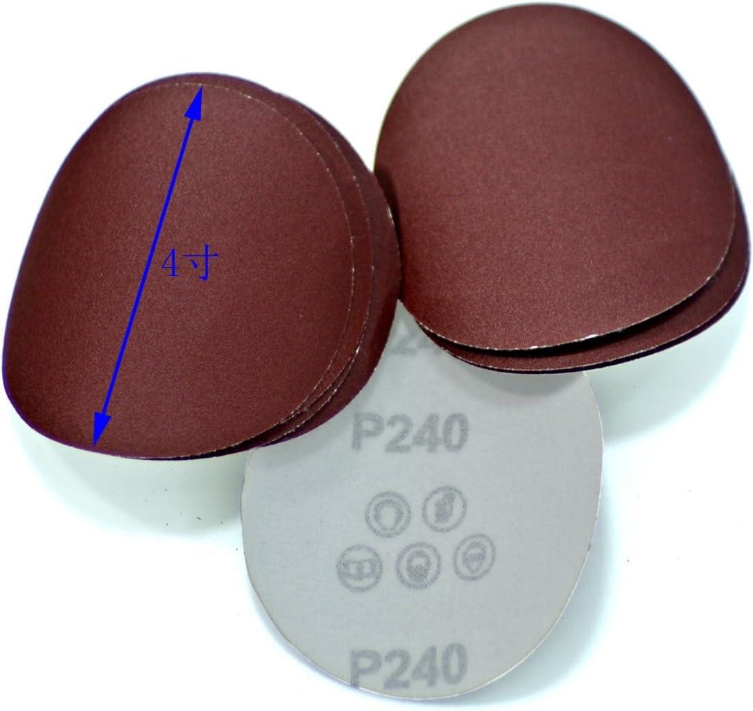 JRL 4 inch 100mm 240 Grit Sander Disc Sanding Polishing Pad Sandpaper Disc