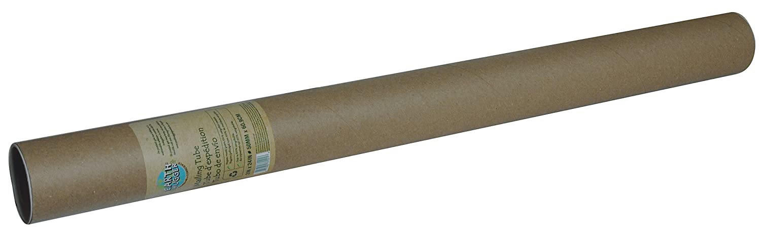 """85%OFF Earth Hugger 2"""" x 24"""" Mailing Tube, 12 Pack (37021-EH)"""