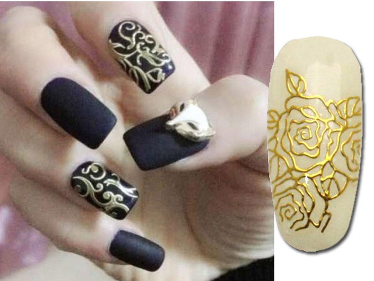 Gold Nail Art: Amazon.com