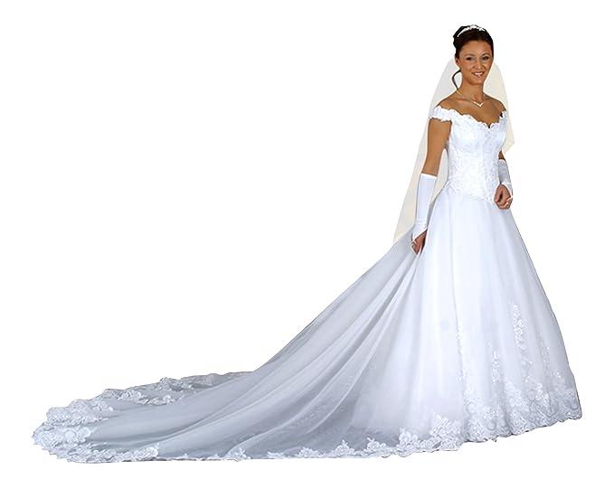 Vestido de novia boda vestido, larga desmontable croma, maduro Rock, enagua, Después