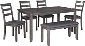 Signature Design by Ashley Bridson Dining Table, Gray