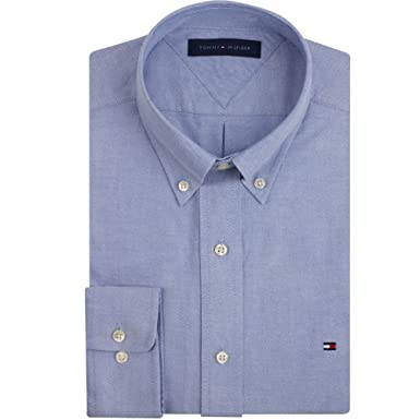 955ffac163f Image Unavailable. Image not available for. Color  Tommy Hilfiger Slim Fit  Heritage Oxford Dress Shirt ...