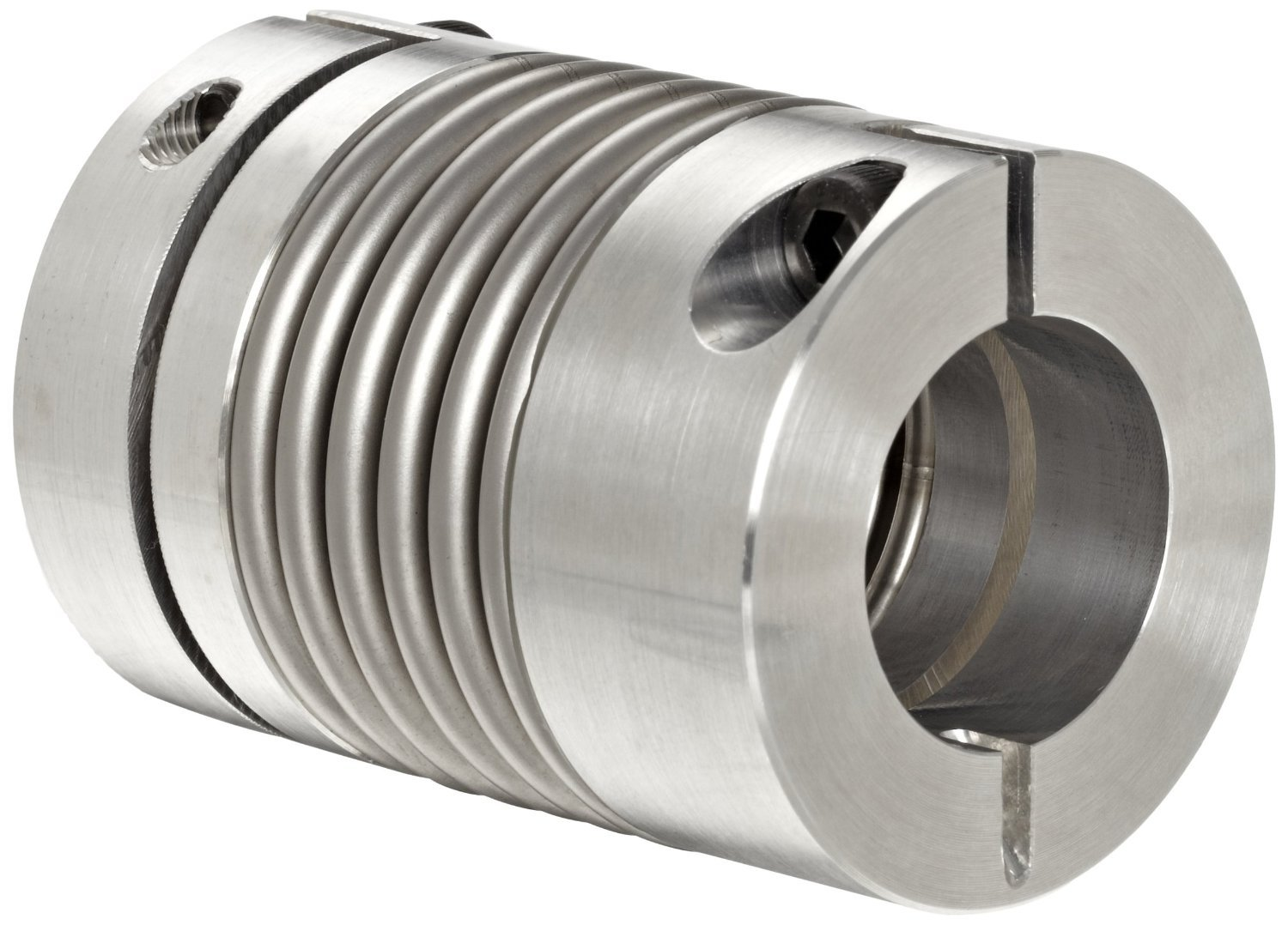 531 in-lbs Nominal Torque Inch 3.071 Length Lovejoy 77013 Size BWLC-78 Bellows Clamp Style Coupling 0.625 Bore A 8600 rpm Max Rotational Speed 0.625 Bore A 0.625 Bore B 2.598 OD 3.071 Length 2.598 OD Complete Coupling 0.625 Bore B