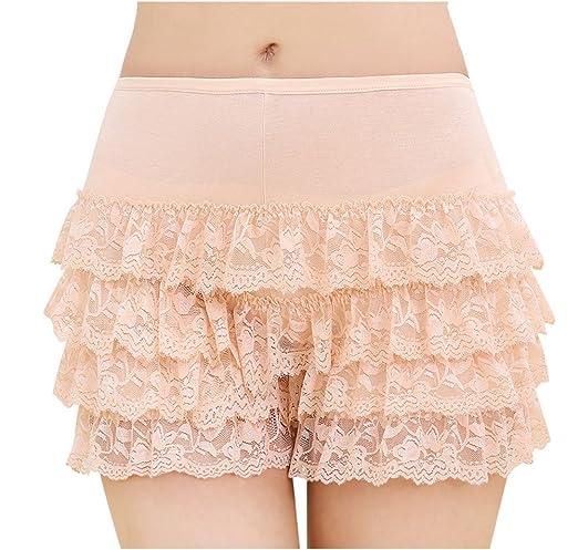 hoverwin Short bajo de ropa mujer cordón - Boxer Shorty, Leggings ...