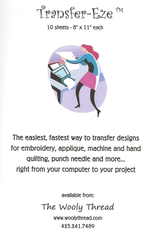 Amazon Transfer Eze Paper For Design Transfer Embroidery