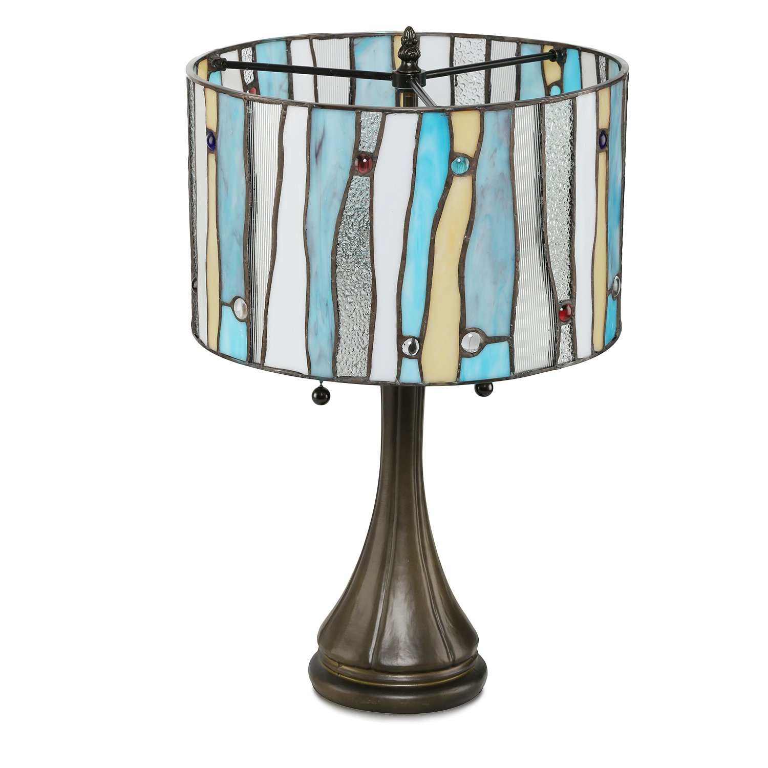 Serena D italia Tiffany Style Table Lamps Contemporary Mosaic