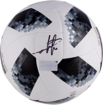 1162fb9e67c Eden Hazard Belgium Autographed 2018 FIFA World Cup Telstar Soccer Ball - Fanatics  Authentic Certified