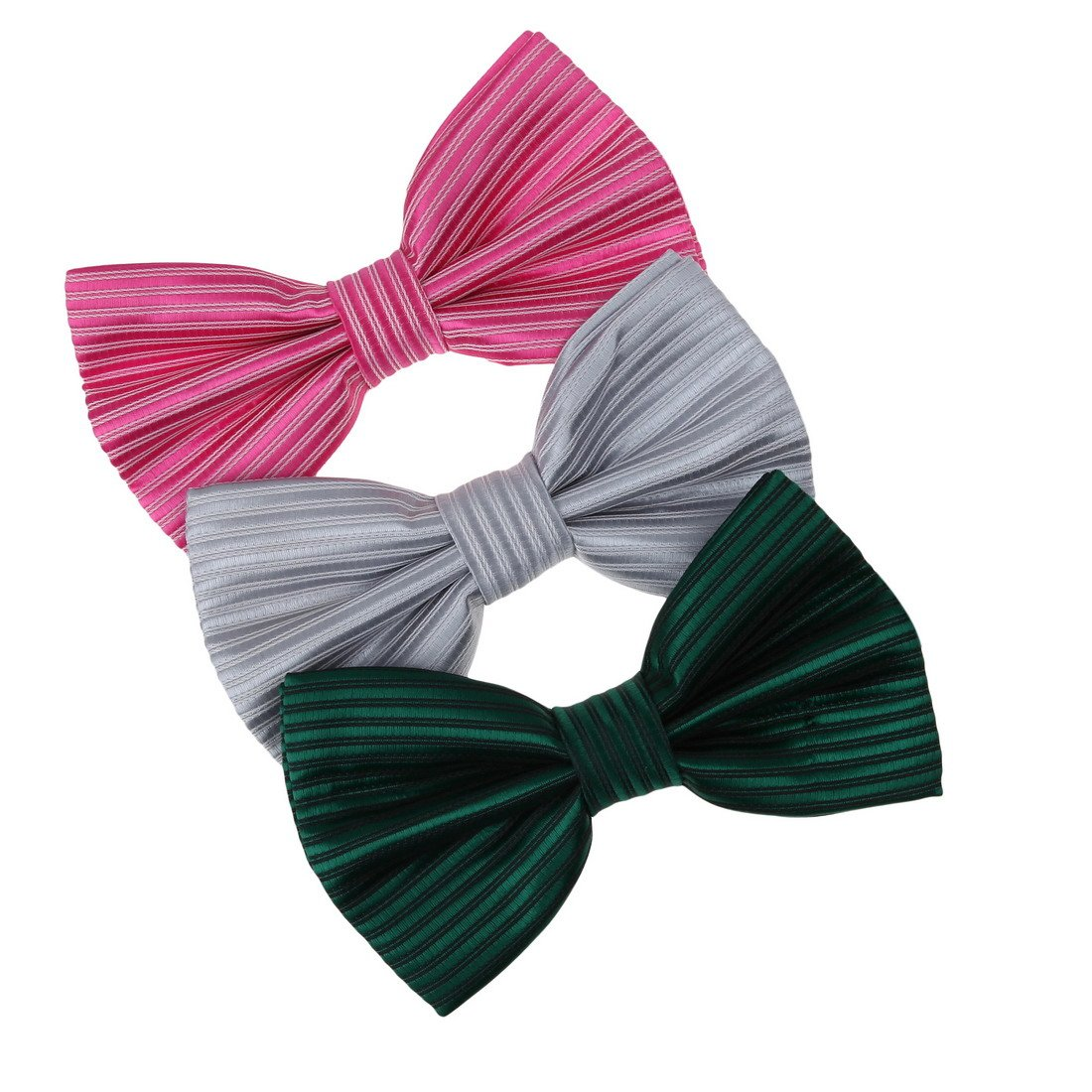 DBE0211 Friendship Style Bow Ties Microfiber Excellent Series 3 Pack Bow Ties Set by Dan Smith