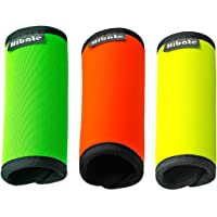 Hibate Comfort Neoprene Luggage Handle Wrap Grip - Fluorescent Color