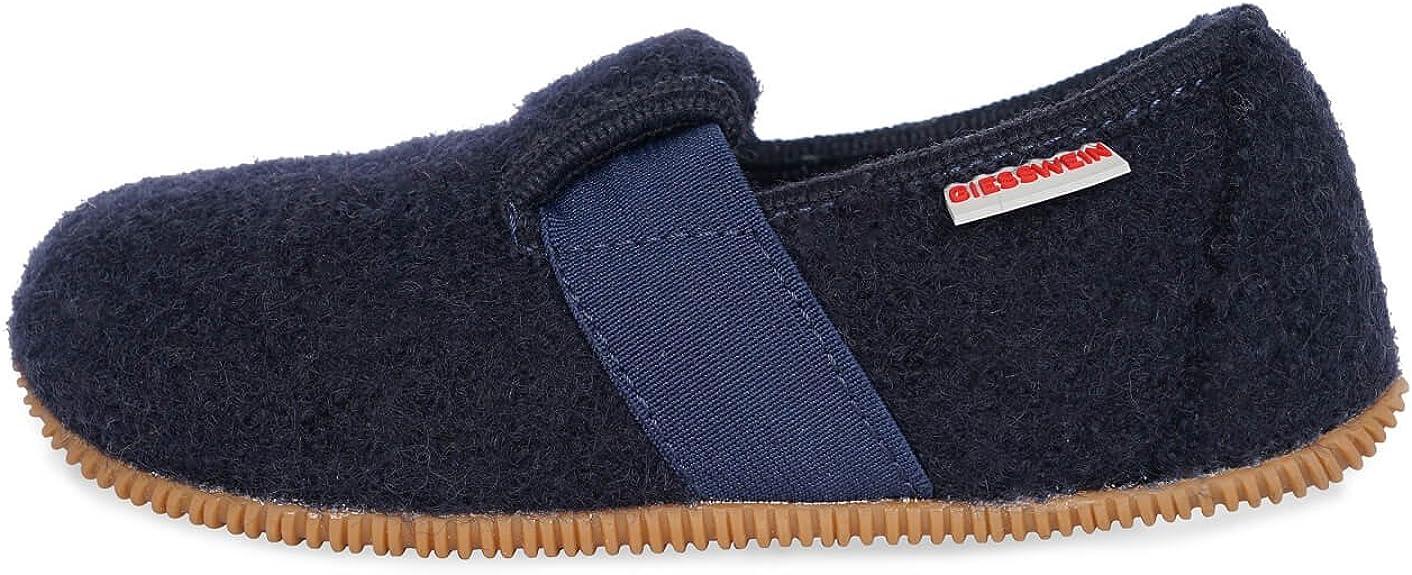 28 EU Giesswein Walkwaren AG Aichach Ocean 588 Pantofole a Collo Basso Unisex-Bambini Blu