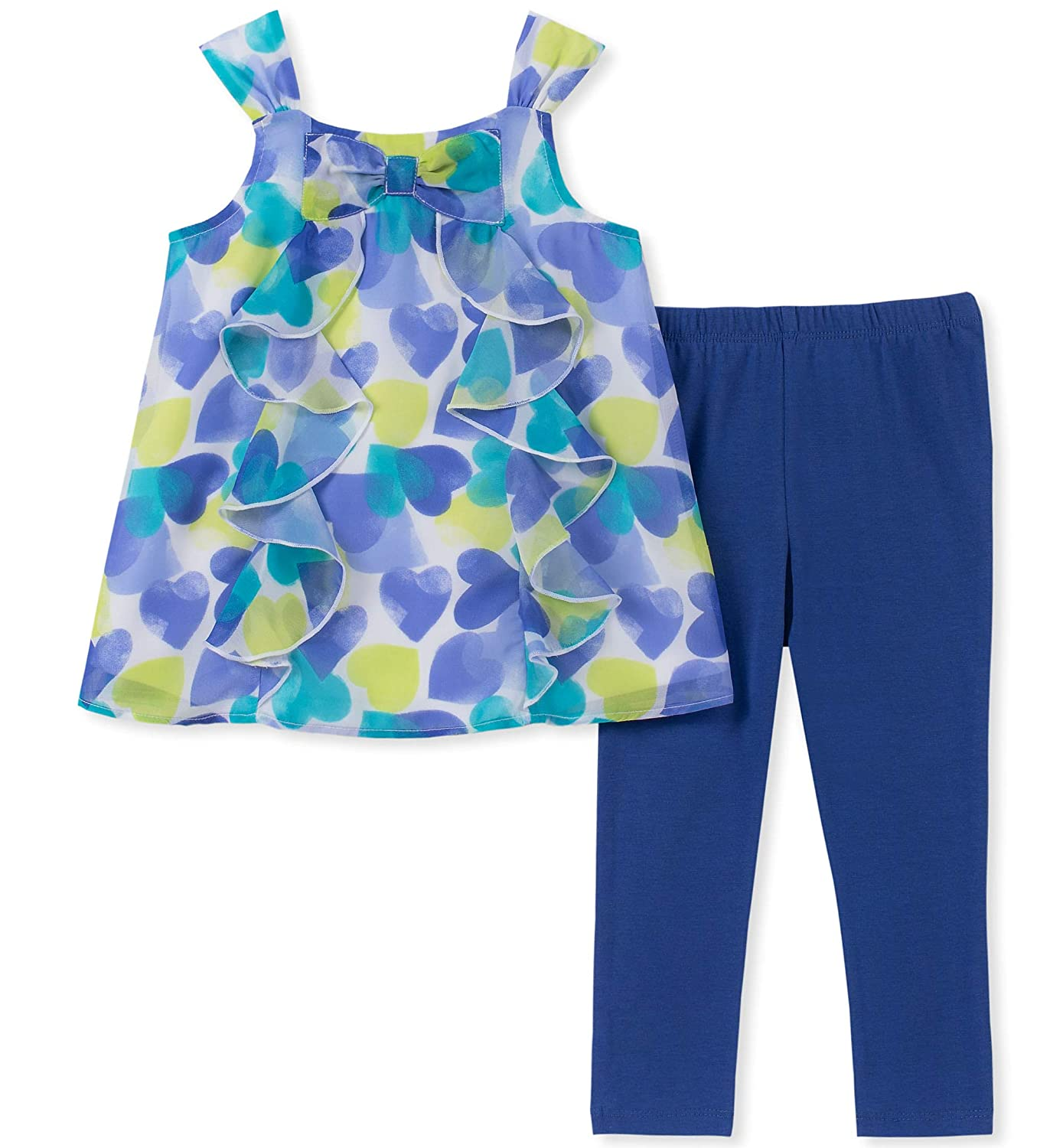 Kids Headquarters Girls Little 2 Pieces Legging Set