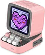Divoom Ditoo Retro Pixel Art Game Bluetooth Speaker with 16X16 LED