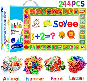 Sweepstakes: Soyee 244pcs Magnetic Letters Educational Toys for Preschool…