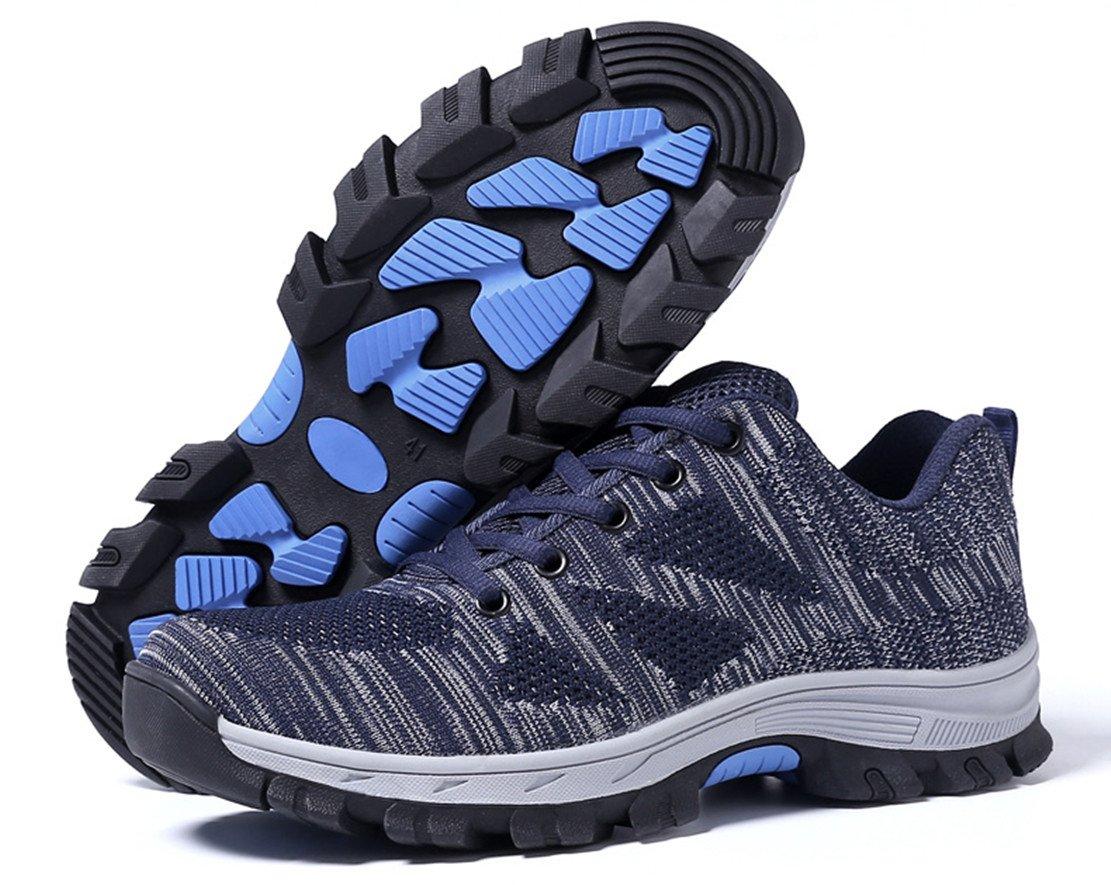 GUDUN Breathable Steel Toe Shoes for Men Steel Toe Sneakers Steel Toe Boots for Men (9-15 to delivery) (US Men 9.5, GD06)