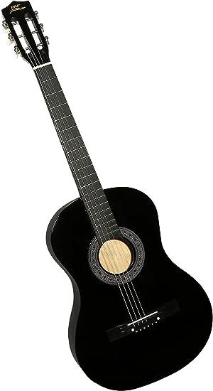 Pyle PGAKT0392 - Guitarra acústica de madera para principiantes ...