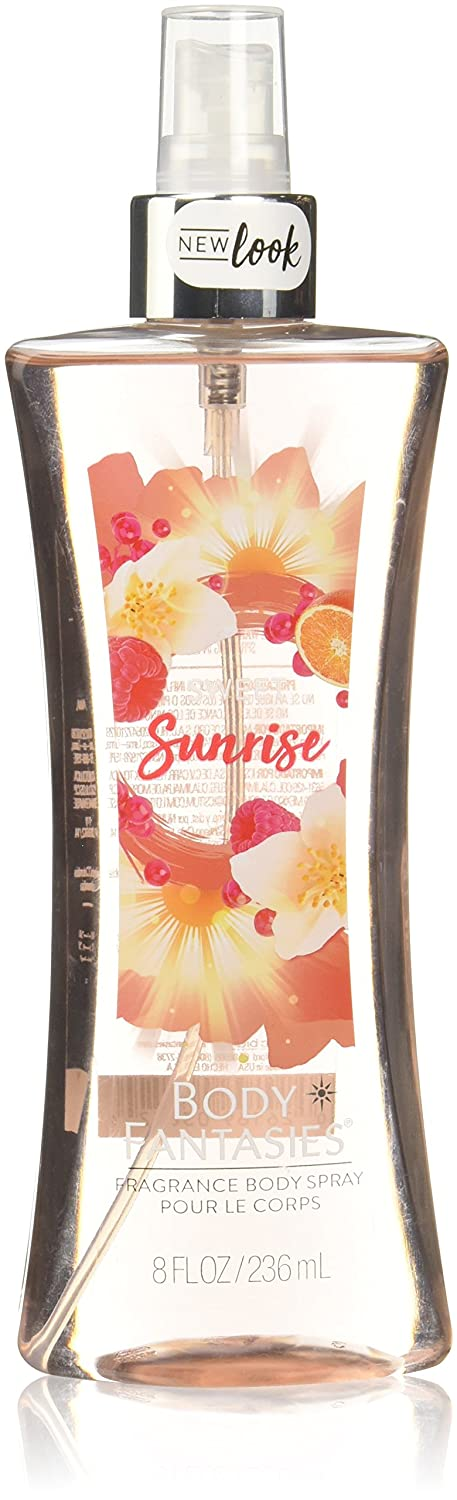 Body Fantasies Signature Fragrance Body Spray, Sweet Sunrise Fantasy, 8 Fluid Ounce 0026169038524