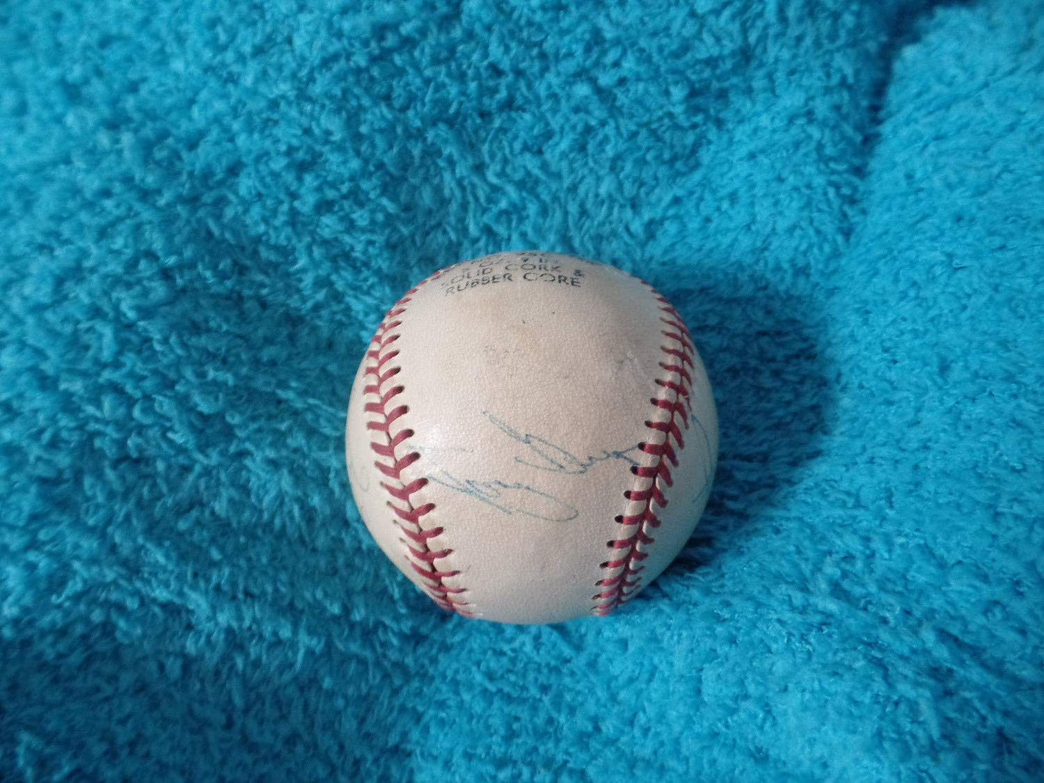 San Diego Padres Autographed Signed Baseball 6 Sigs JSA Authentic Letter Tony Gwynn