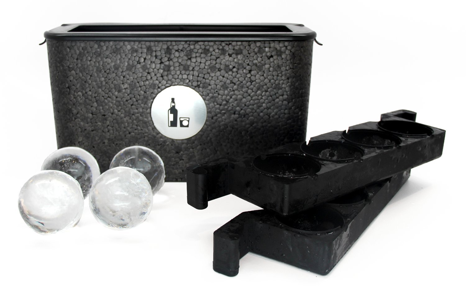 Wintersmiths Ice Chest - Crystal-Clear Ice Ball Maker