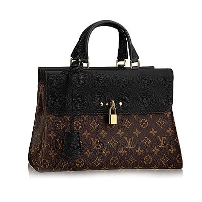 b4e3741fc899 Authentic Louis Vuitton Monogram Canvas Venus Handbag Article M41737 Noir  Made in France  Handbags  Amazon.com