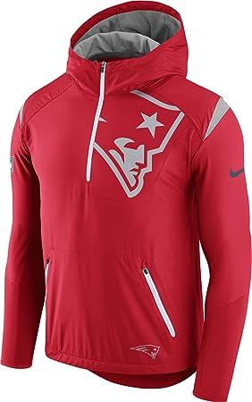 Nike de Hombre Nuevo England Patriots diseño 2017 Fly Rush Rojo ...