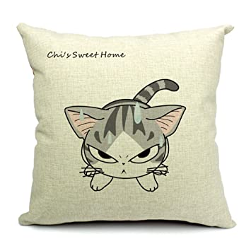 Amazon.com : Funda de Almohada Cojin Cojines Impresi¨®n Estampado Gato Enfadado Angry Cat : Baby