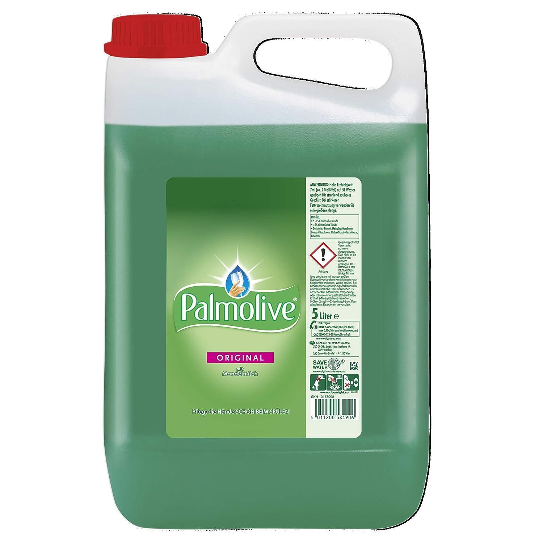 Palm olivo Detergente para lavavajillas Original, 1er Pack (1 x 5 ...