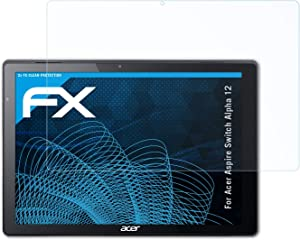 atFoliX Screen Protection Film Compatible with Acer Aspire Switch Alpha 12 Screen Protector, Ultra-Clear FX Protective Film (2X)