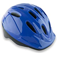 Joovy Noodle Kids Bicycle Helmet with Vented Air Mesh and Visor Blueberry