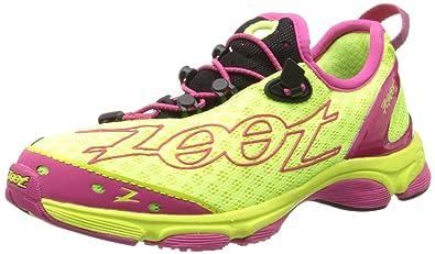 Zoot Ultra TT 7.0 - Women s Safety Yellow Beet Black 6.5 07b4d124b