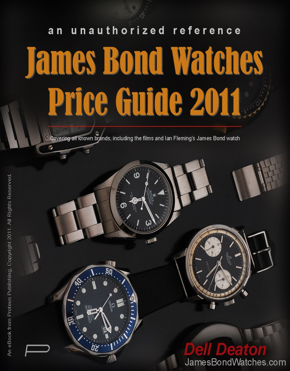 James Bond Watches Price Guide 2011  English Edition