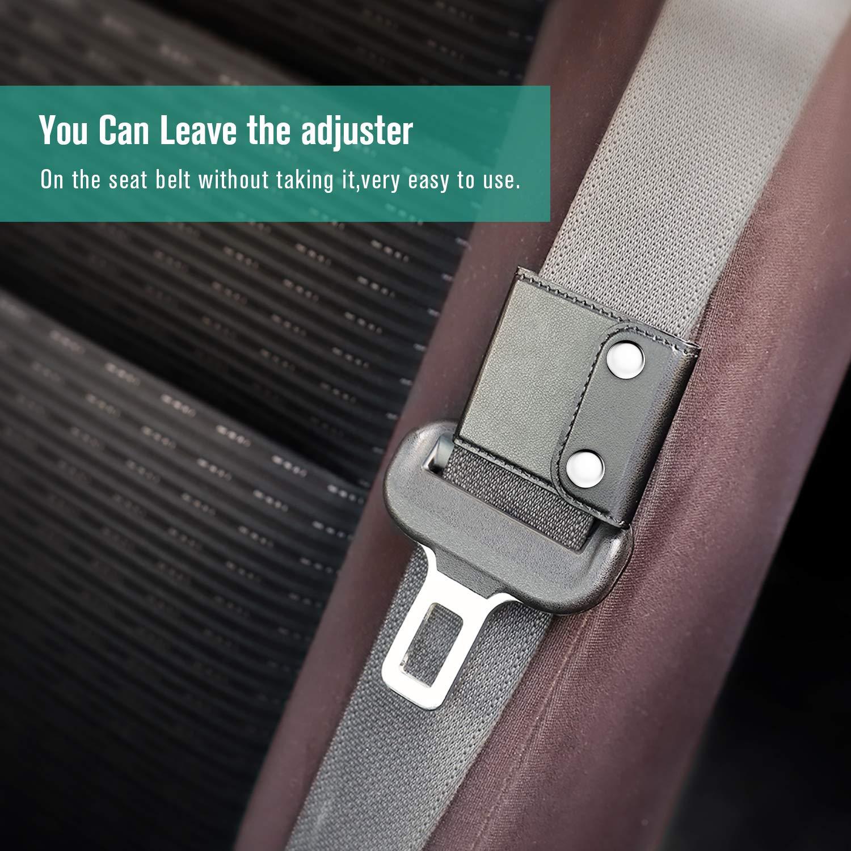 ROYAGO regolatore Cintura di Sicurezza Comfort Borsa a Tracolla da Collo da Bowling Fermaglio Protector Universale Veicolo Auto Cintura di Sicurezza coperture Confezione da 2