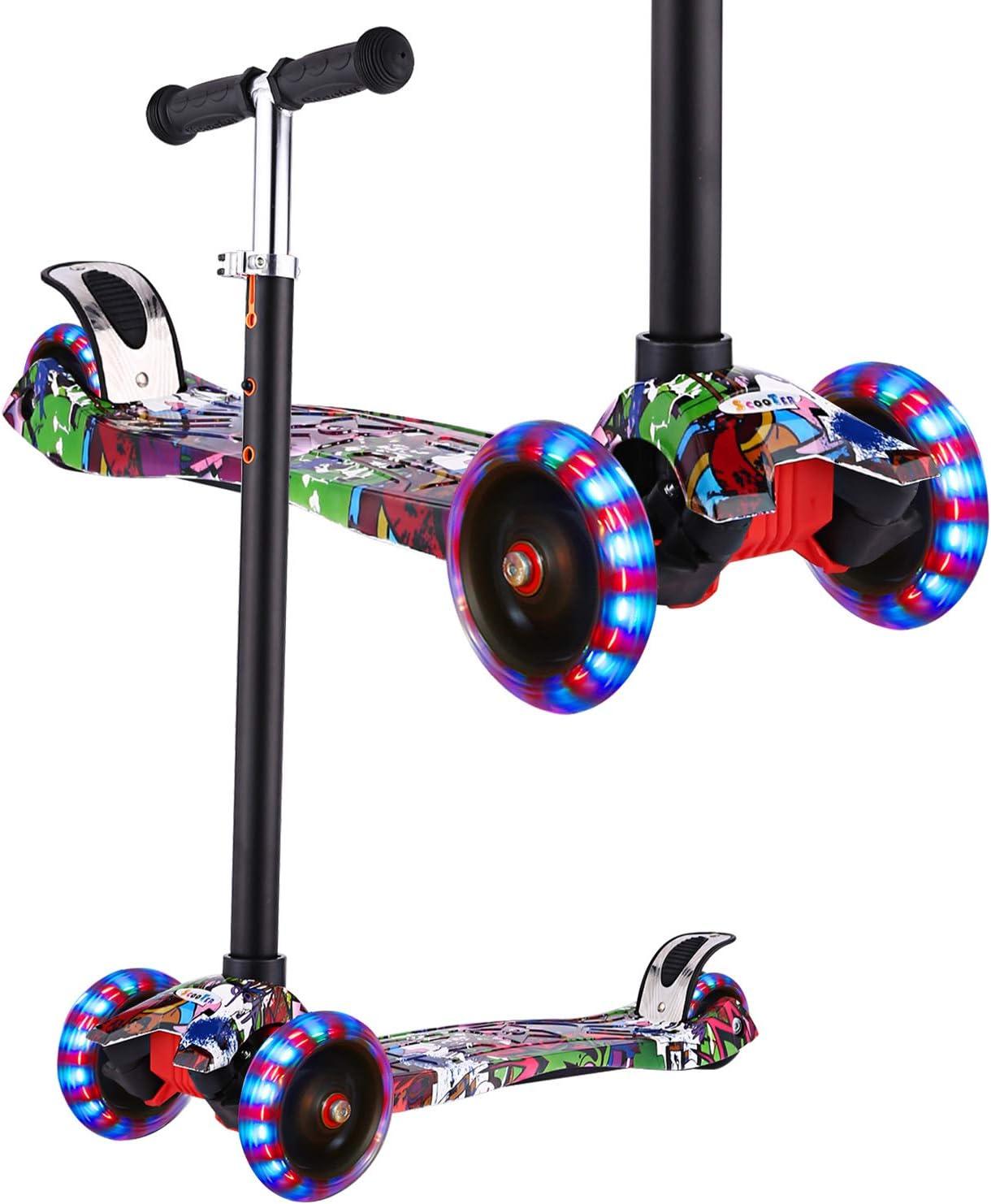 Amazon.com: Hikole - Patinete para niños, patinete para ...