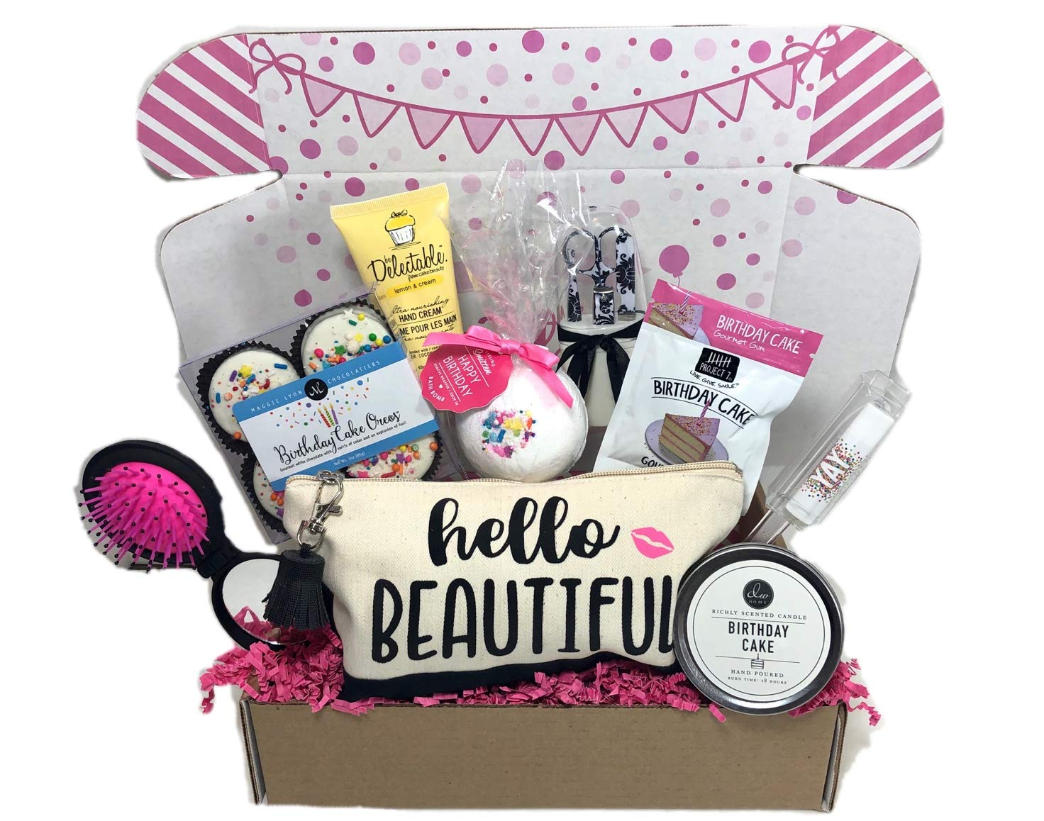 Womens Birthday Gift Box Set 9 Unique Surprise Gifts For Wife Aunt Mom Girlfriend Sister From Hey