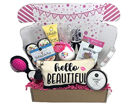 Complete Birthday Gift Basket Box For Her Women Mom Aunt Sister Or Friend Unique Online At Low Prices In India