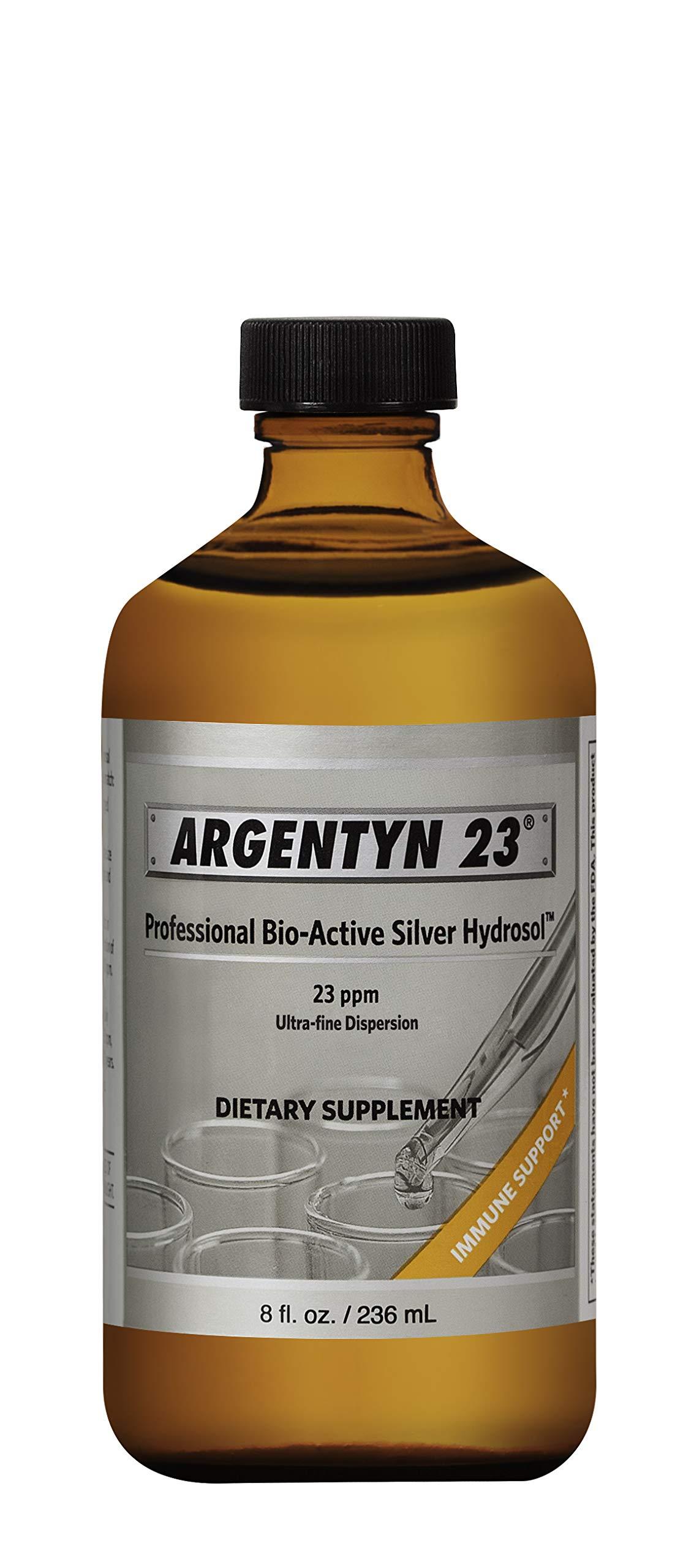 Argentyn 23® Professional Formula Bio-Active Silver Hydrosol for Immune Support* - 8 oz. (236 mL) Twist Top Bottle - Col by Argentyn 23