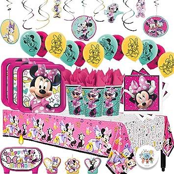 Amazon.com: Disney Minnie Mouse MEGA Deluxe cumpleaños ...